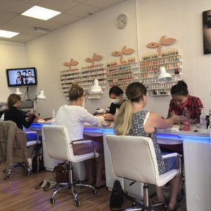 Cindy Nails and Beauty salon interior