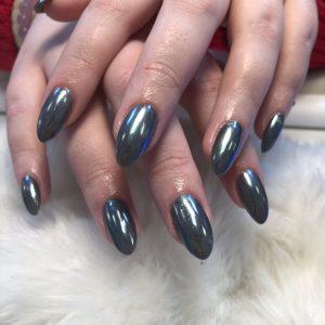 Christmas nail design 4