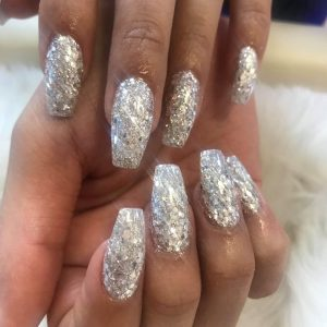 Christmas nail design 6