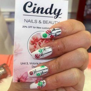 Christmas nail design 9