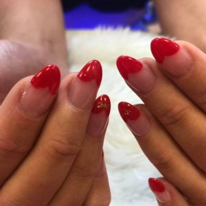 heart tips nail design 060319 9