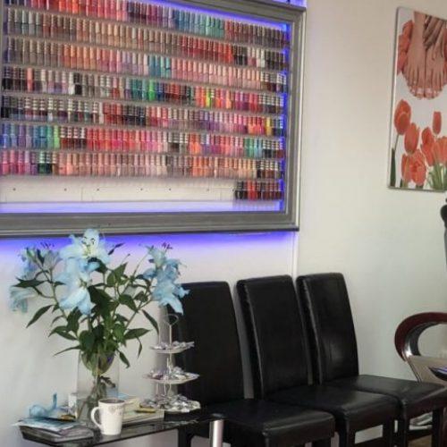 Cindy Nails and Beauty salon interior